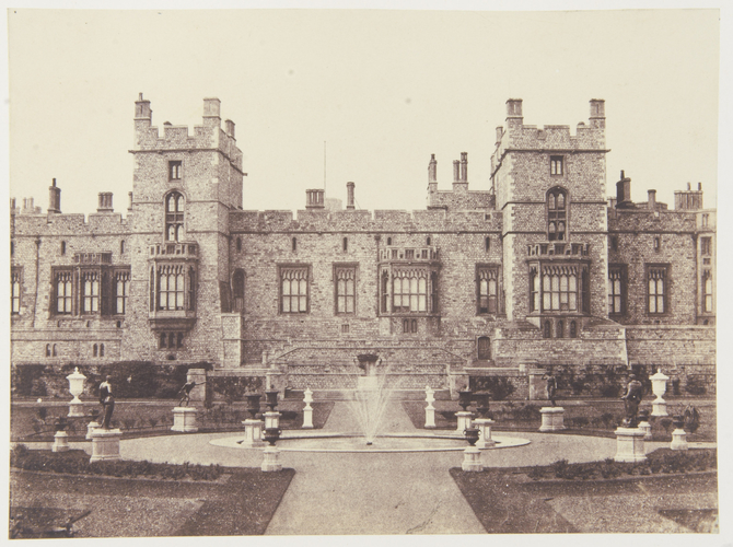 View of the East Terrace, Windsor Castle