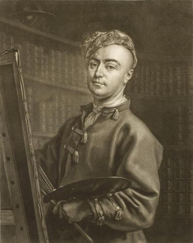 Philip Mercier, portrait painter
