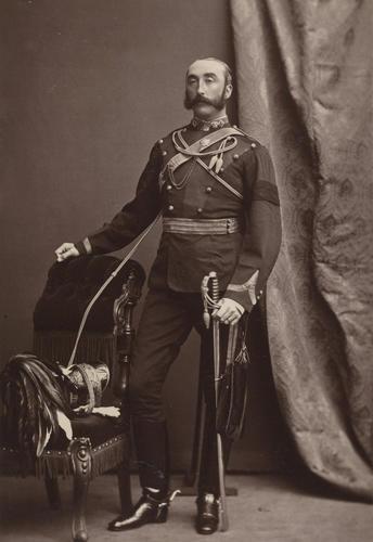 Lieutenant-Colonel Robert Stewart Cleland (1840-81)