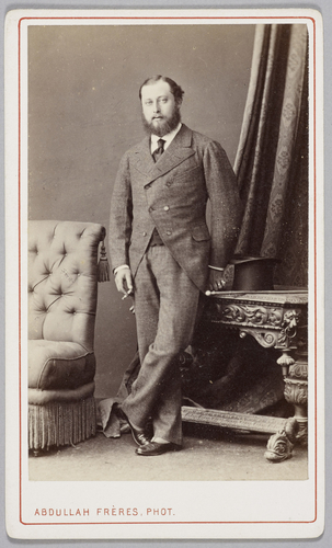 The Prince of Wales (later King Edward VII)