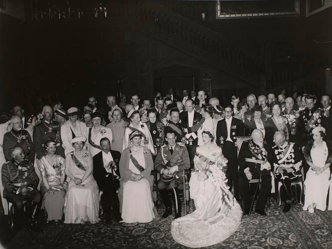Wedding of Prince Louis Ferdinand of Prussia (1907-94) and Grand Duchess Kira Kirillovna of Russia (1909-67)