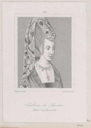 Isabeau de Baviere (Queen of France, Consort of Charles VI, King of France, Daughter of Stefan, Duke of Bavaria)