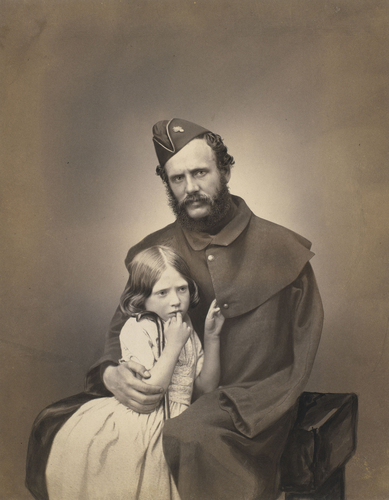 Sergeant Thomas Dawson with his Daughter