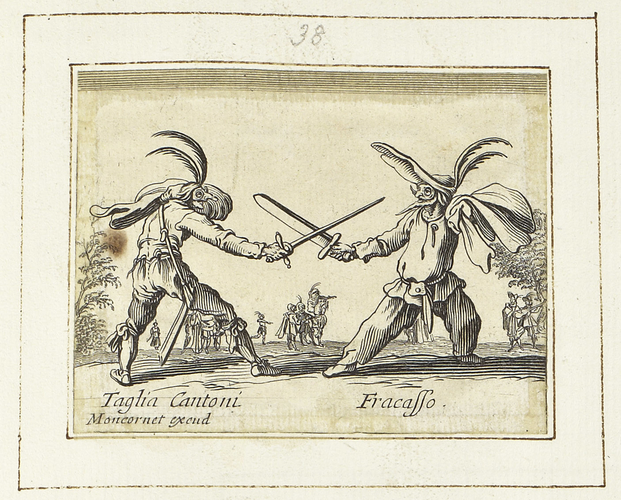 Master: Balli di Sfessania Item: Taglia Cantoni and Fracasso