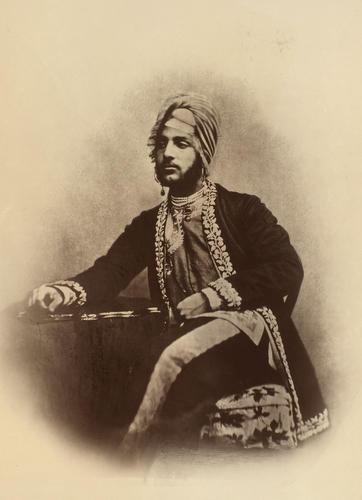 Maharaja Dalip Singh of Lahore (1838-93)