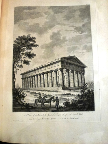 The Ruins of Paestum, otherwise Posidonia, in Magna Graecia / by Thomas Major