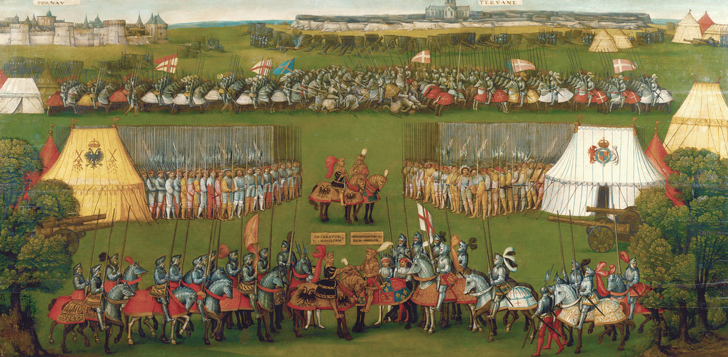 The Meeting of Henry VIII and the Emperor Maximilian I