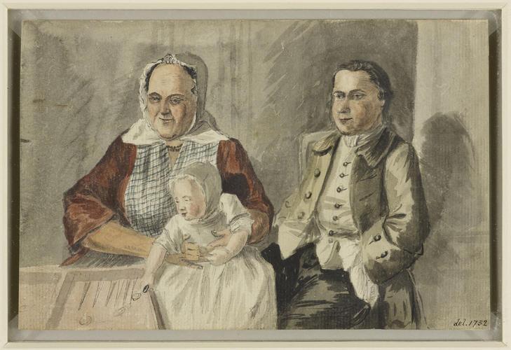 John Clerk, William Adam and his nurse