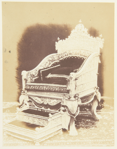 Ivory throne (India) [Exhibition 1851 Reports by the Juries vol. III]