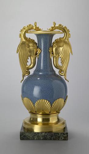 Vase with mounts