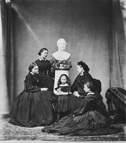 Group photograph, Windsor Castle, 1862