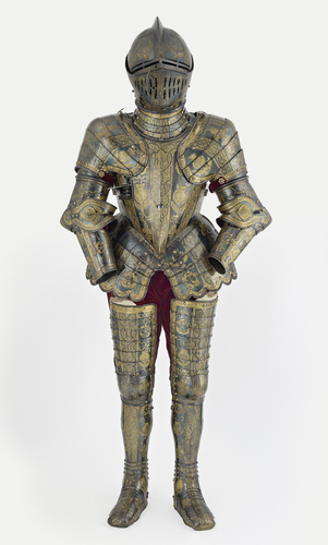 Armour garniture of Henry, future Prince of Wales, for the field, tourney, tilt and barriers