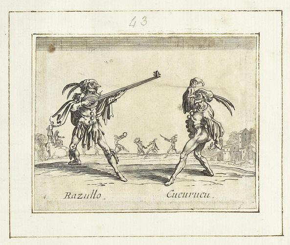 Master: Balli di Sfessania Item: Razullo and Cucurucu