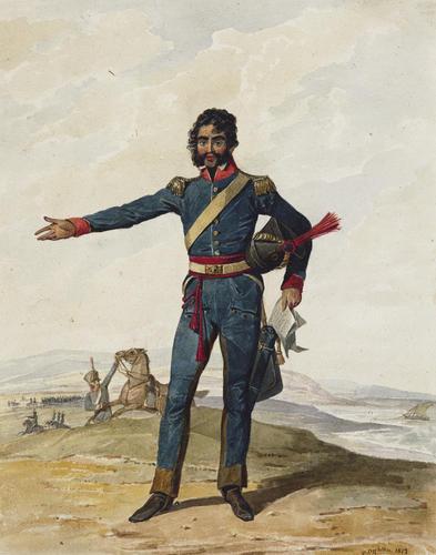 Portuguese Army. 10th Cavalry Regiment, 1812