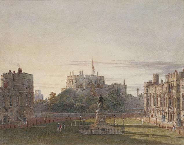 Windsor Castle: The Upper Ward