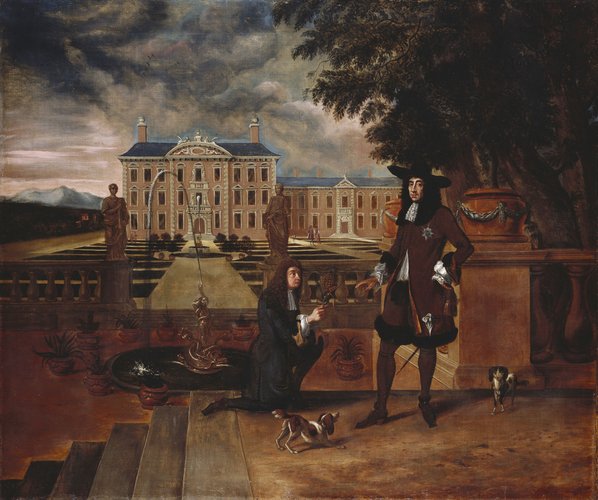 Charles II Presented with a Pineapple