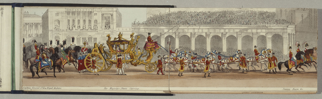 Tableau of the Procession at the Queen's Coronation