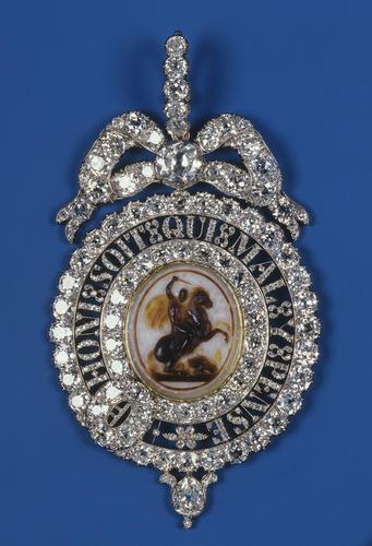 Order of the Garter: Lesser George, Queen Victoria's Sash Badge