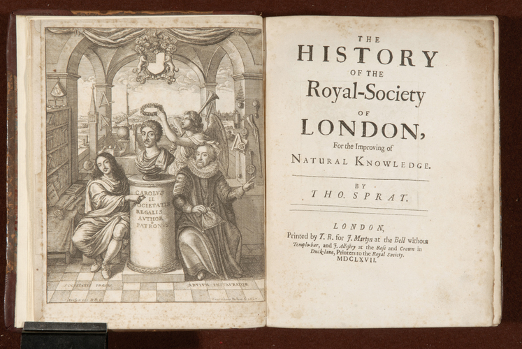 The History of the Royal Society of London for the improving of natural knowledge