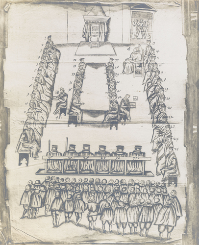 Master: [The Trial of Mary Queen Scots; and The Execution of Mary Queen of Scots] Item: [The Trial of Mary Queen Scots]