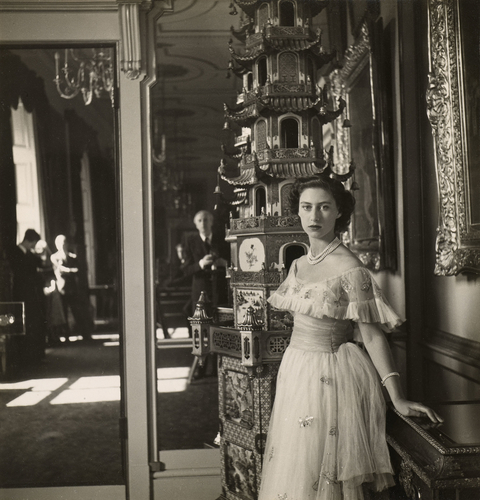 Princess Margaret (1930-2002) and Cecil Beaton (1904-1980)
