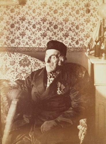 Emmanuel Louis Cartigny (1791-1892), the last survivor of the Battle of Trafalgar