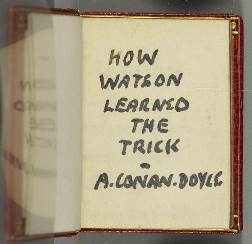 How Watson learned the trick / A. Conan Doyle