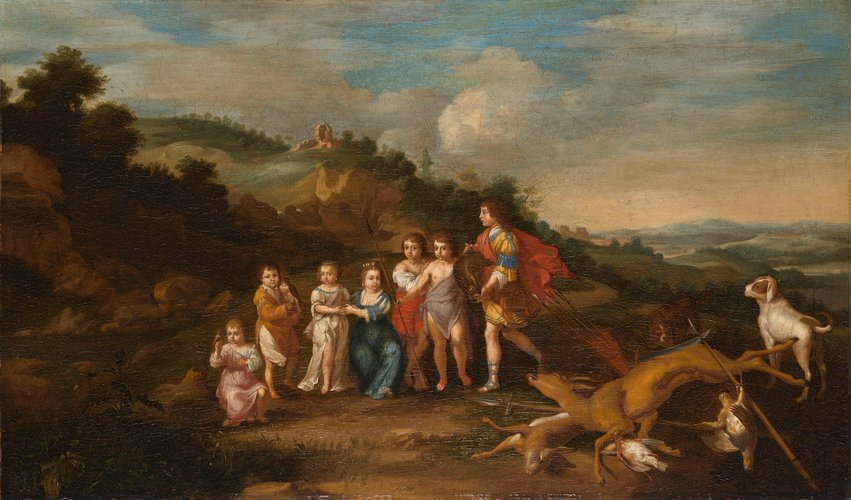 Seven Children of the King and Queen of Bohemia
