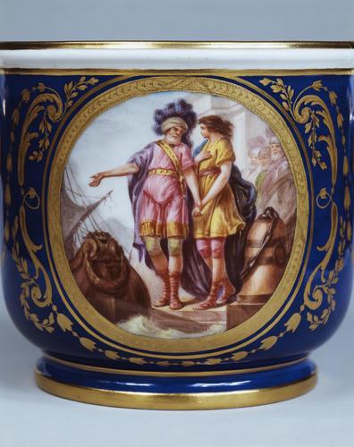 Seaux a verre (part of the Louis XVI dinner service)