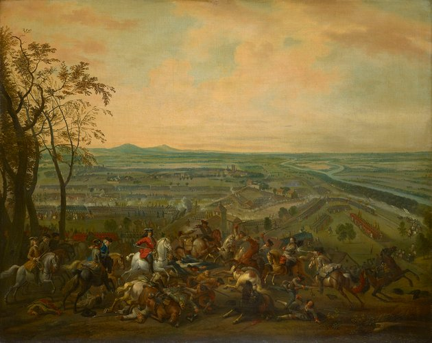 The Battle of Luzzara, 1702