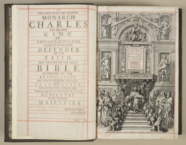 The Holy Bible : containing the bookes of the Old & New Testament