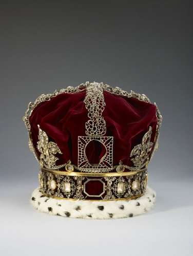 Frame of Queen Victoria's Imperial State Crown