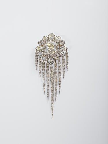 Queen Victoria's Diamond Fringe Brooch