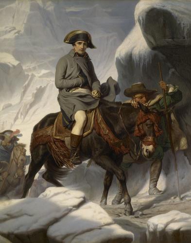 Napoleon crossing the Alps, May 1800