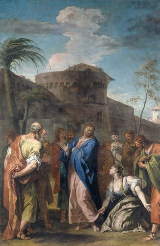 Christ and the Woman who Believed