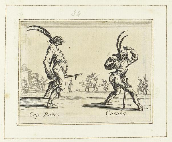 Master: Balli di Sfessania Item: Capitano Babeo and Cucuba