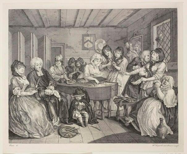 Master: A Harlot's Progress Item: A Harlot's Progress: Plate six