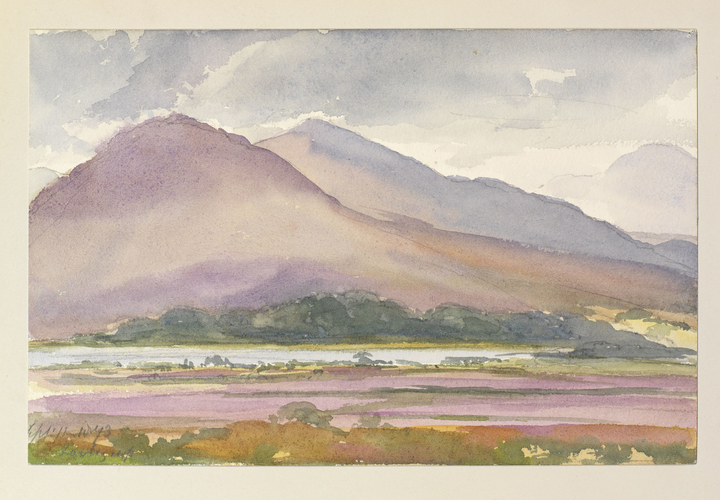 Master: Queen Victoria's Sketches Vol. II (1872-1892) Item: Ben Nevis (Looking up)