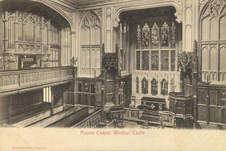 Private Chapel, Windsor Castle