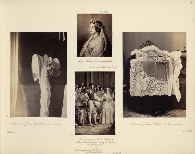 Wedding portrait of Queen Victoria