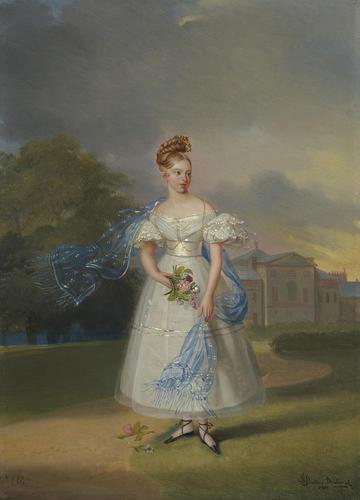 Queen Victoria (1819-1901), when a Girl