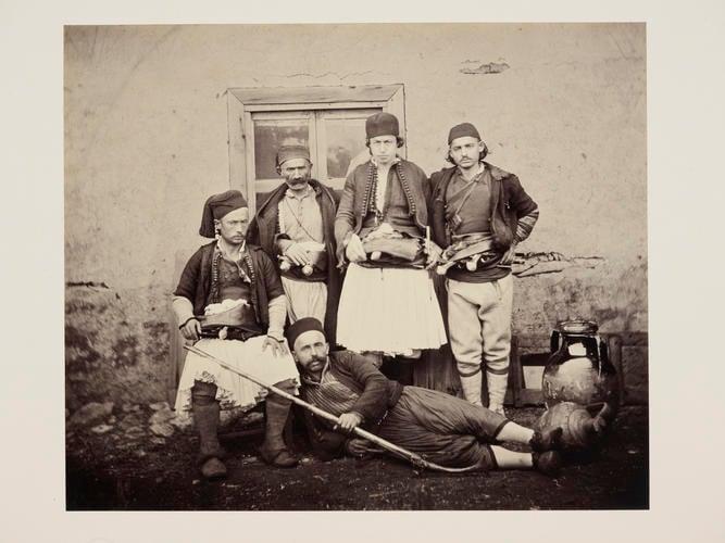 Albanians at Durazzo [Durres, Albania]