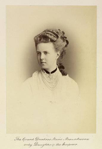 Grand Duchess Maria Alexandrovna (1853-1920)