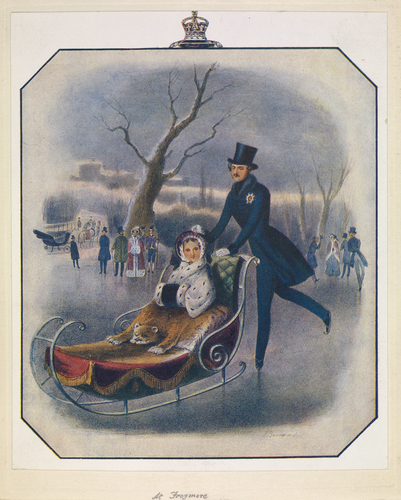 [Queen Victoria and Prince Albert Skating at Frogmore]