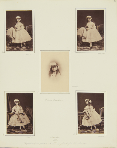Princess Beatrice, November 1866 [in Portraits of Royal Children Vol. 10 1866-67]