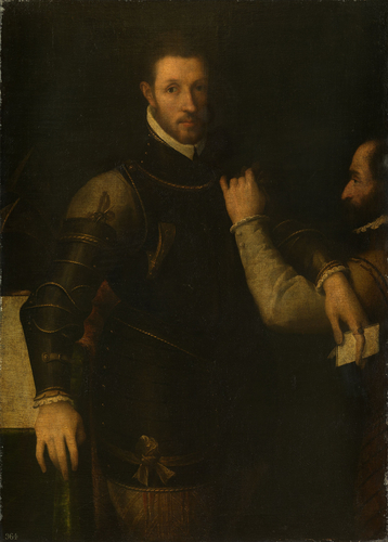 Ludovico Gonzaga (1539-1595) with his Servant