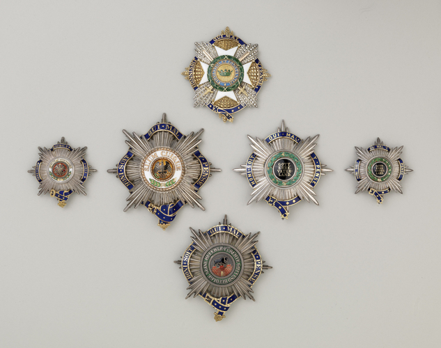 Saxe-Ernestine House Order. Prince Albert's military star