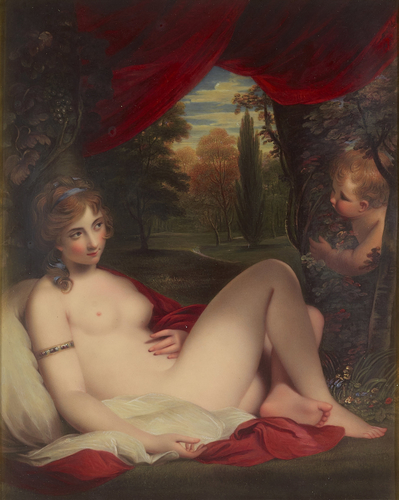 Nymph and Cupid