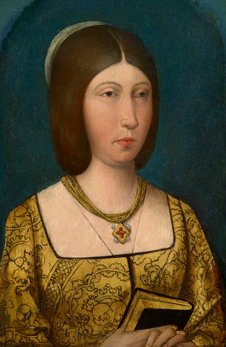 Queen Isabella I of Spain, Queen of Castille (1451-1504)