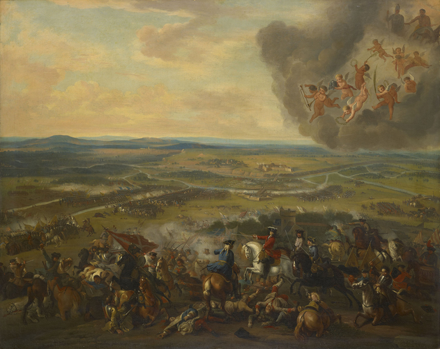 The Battle of Cassano, 1705
